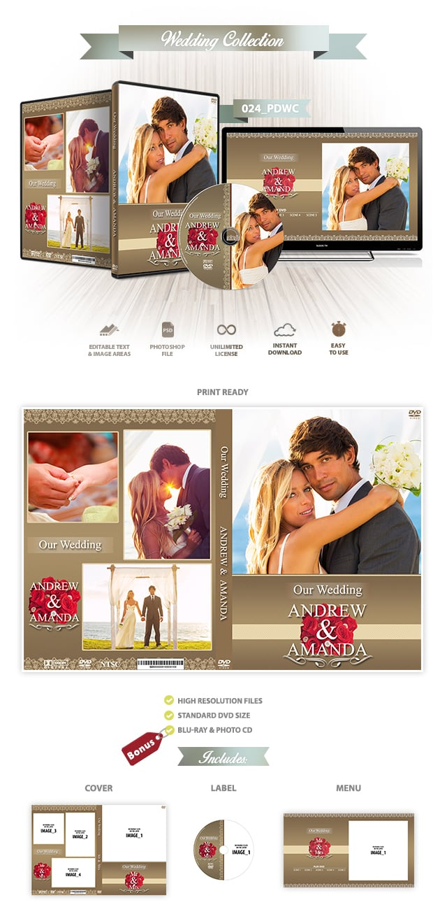 Wedding DVD Cover 024