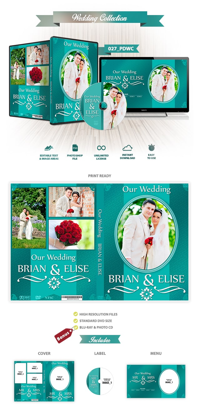 Wedding DVD Cover 027