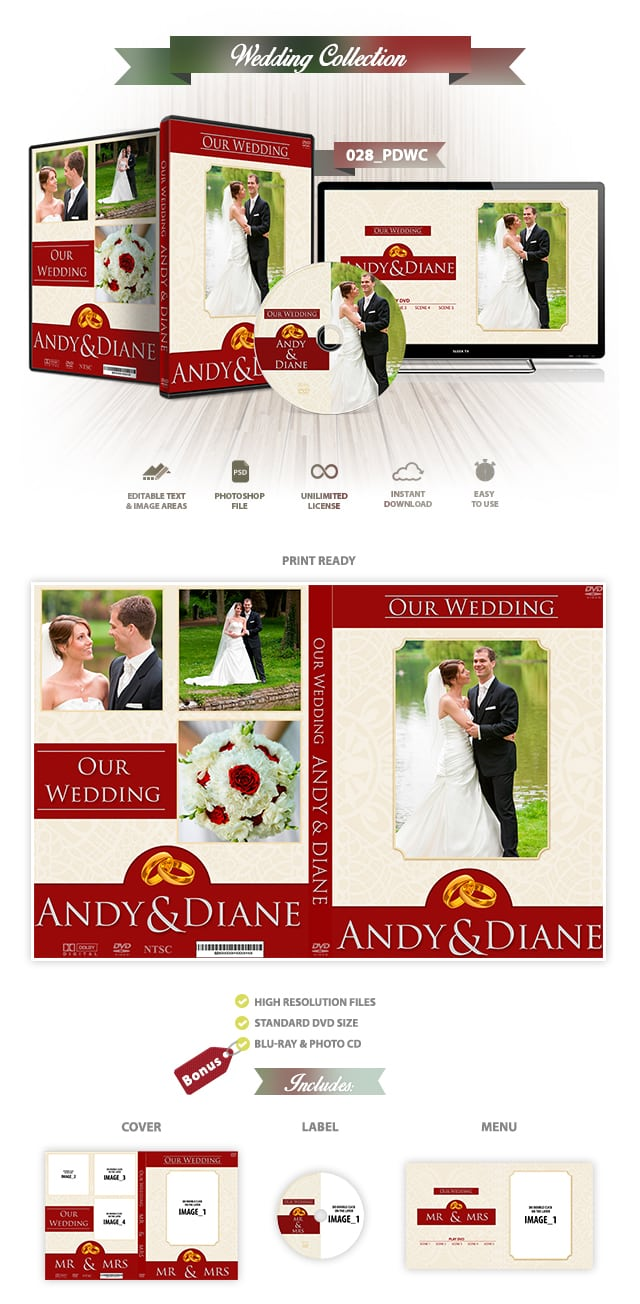 Wedding DVD Cover 028