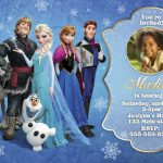 Frozen Invitation Design 005
