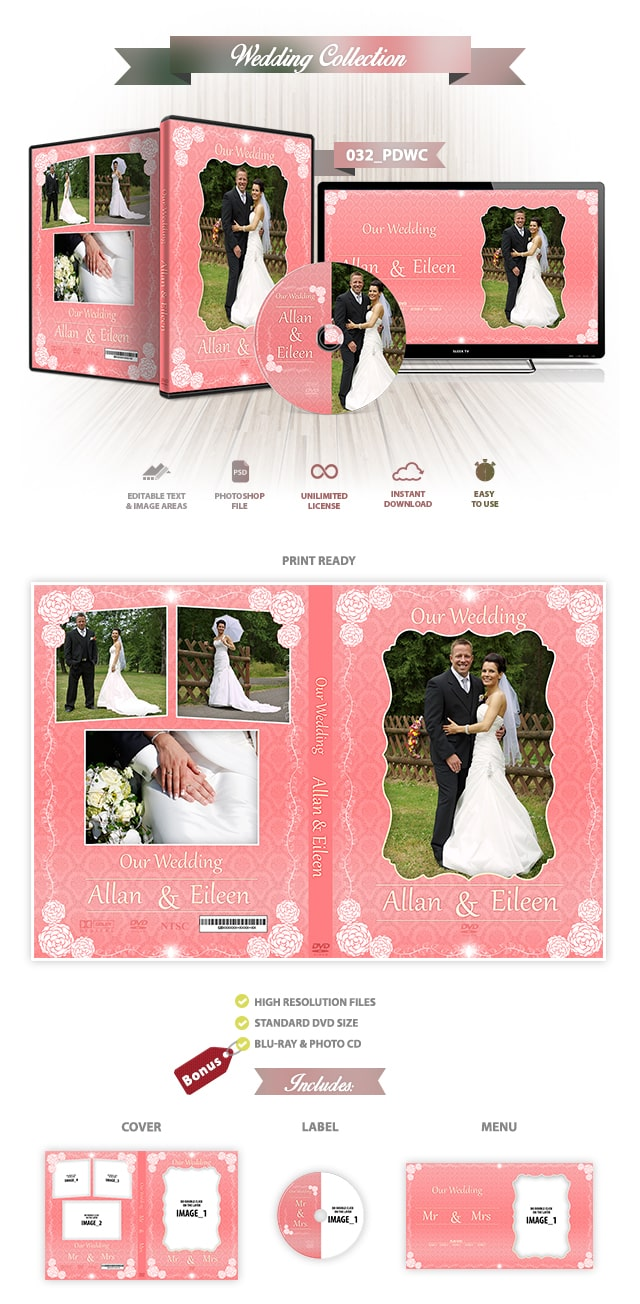 Wedding DVD Cover 032