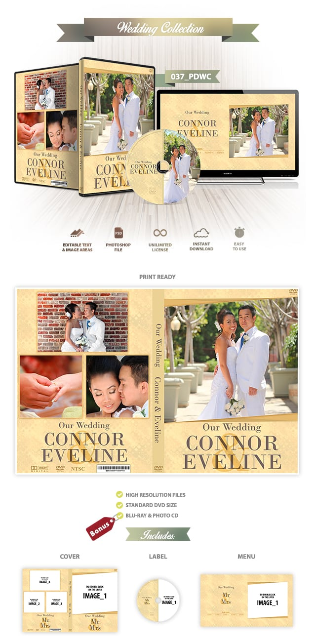 Wedding DVD Cover 037