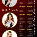 Calendar Psd Template Design 002
