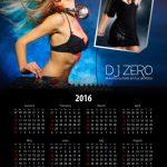 Calendar Psd Template Design 004