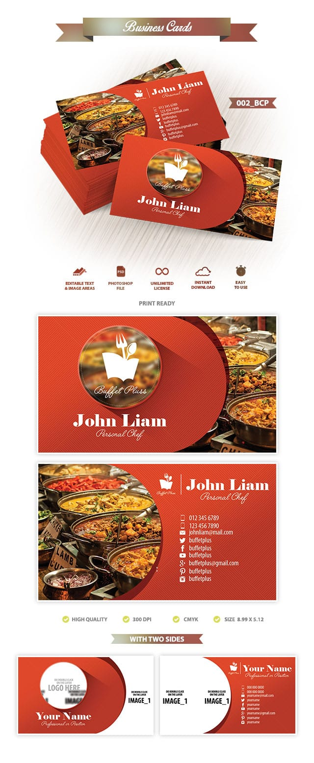 Business Card Template 002