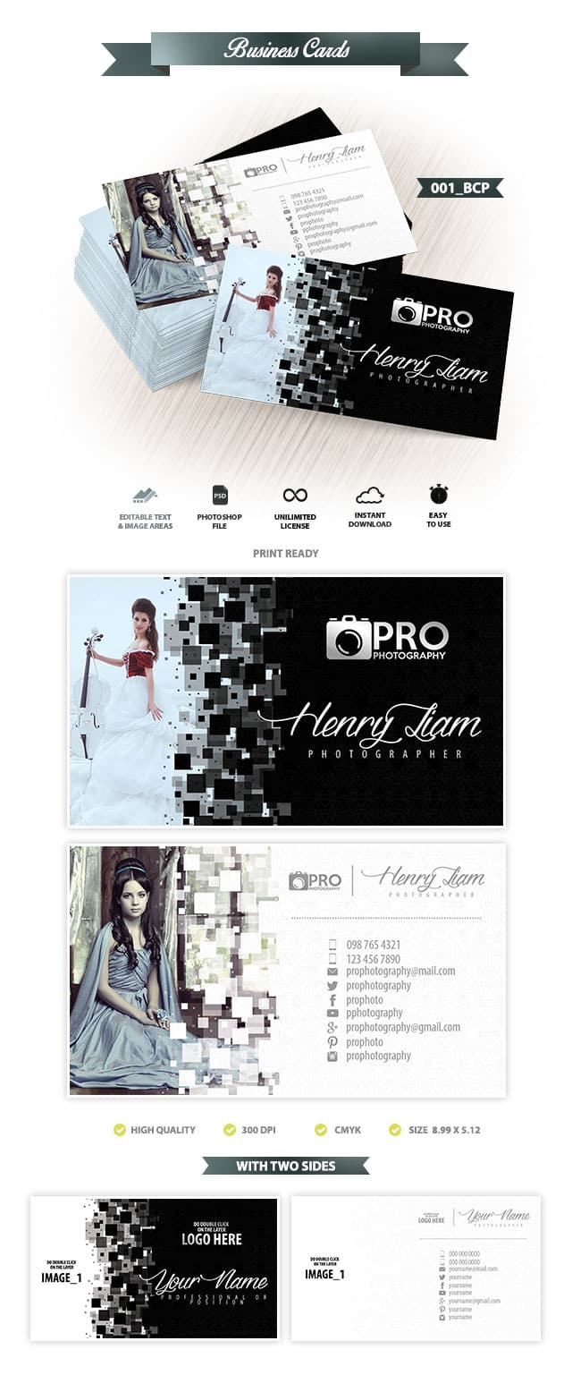 Business Card Template 001