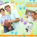 Father's day Mini Session Template 025 for Photographers