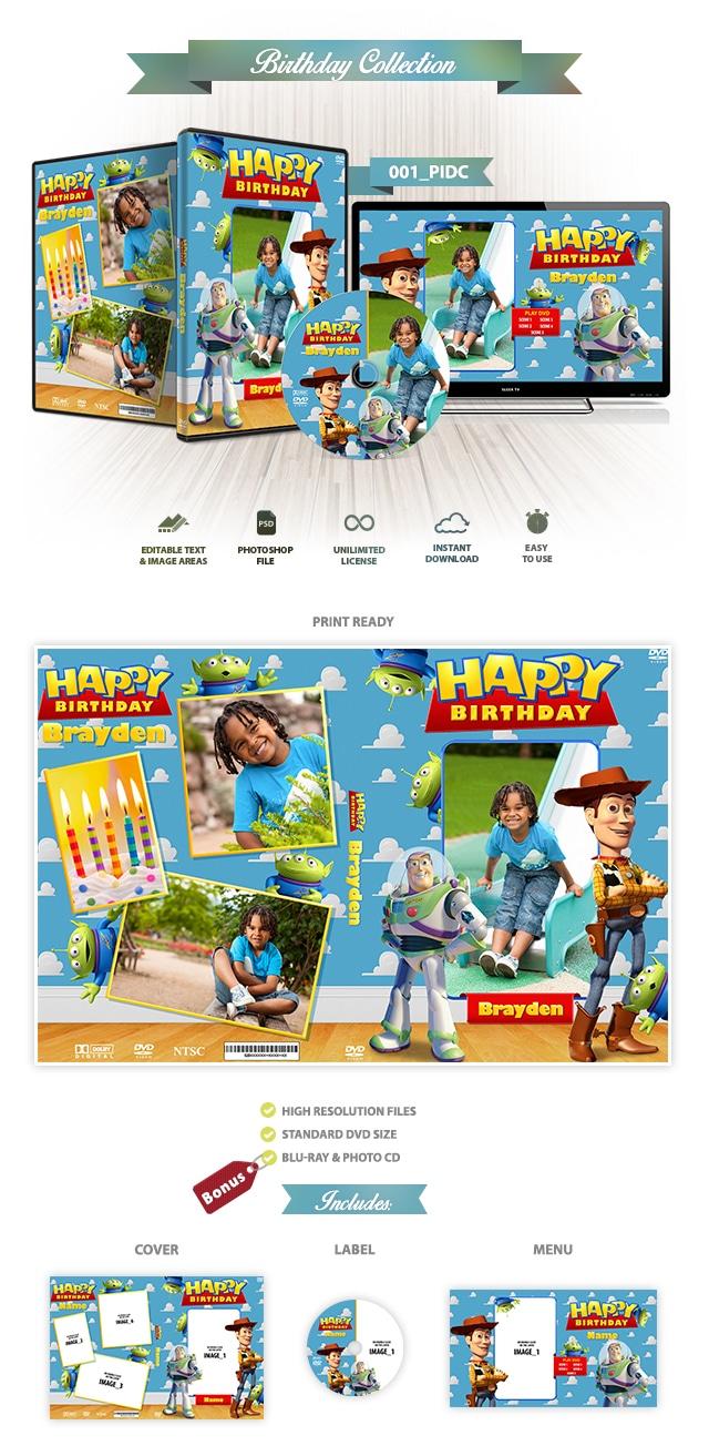 Personajes DisneyDVD Cover 001