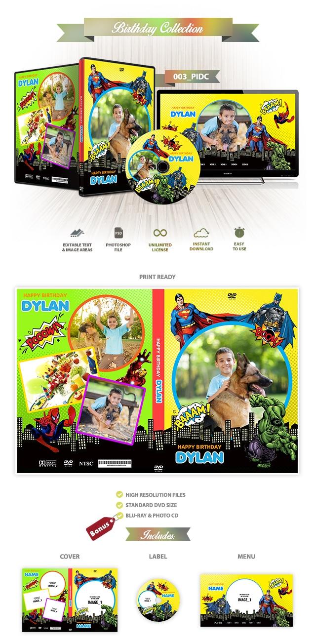Superheroes DVD Cover 003