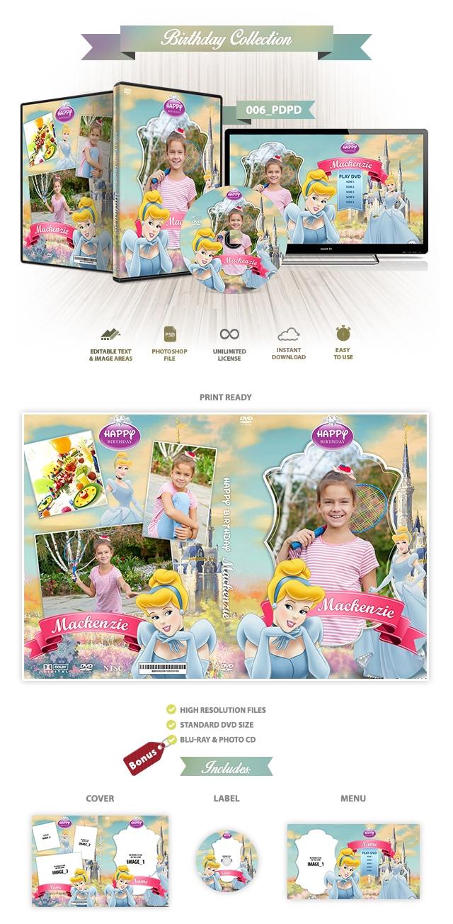 Pricesas Disney DVD Cover 006
