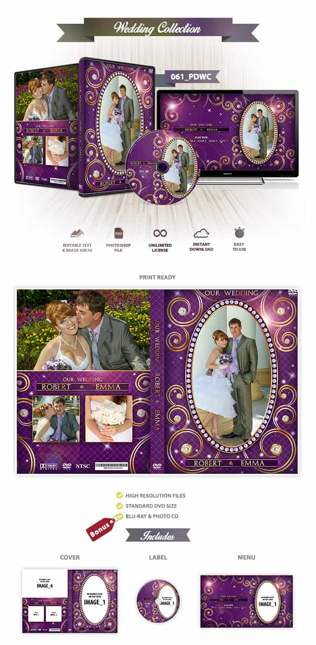 Wedding DVD Cover 061
