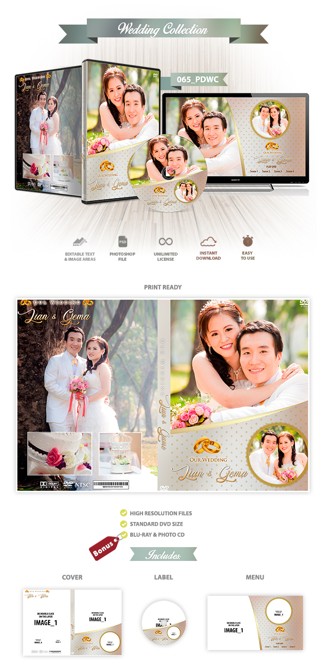 Wedding DVD Cover 065