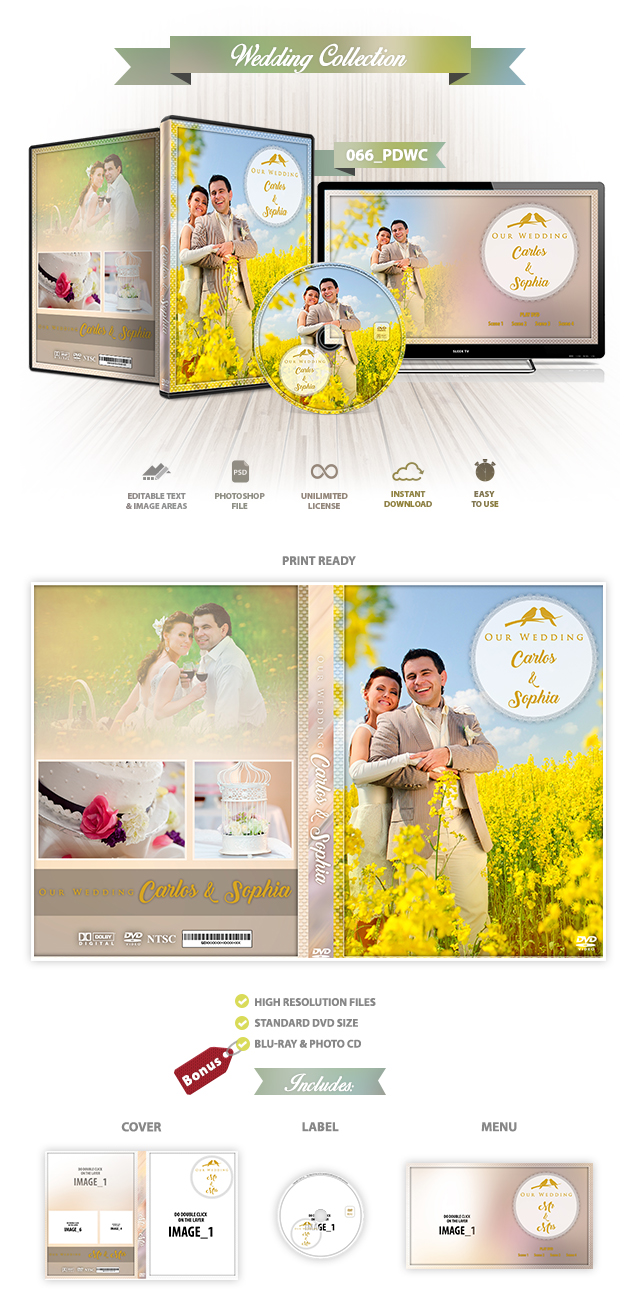 Wedding DVD Cover 066