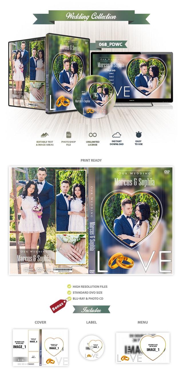 Wedding DVD Cover 068