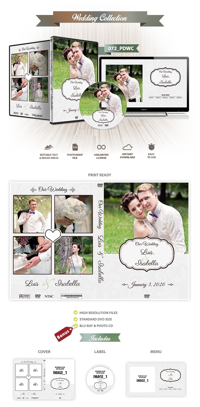Wedding DVD Cover 072