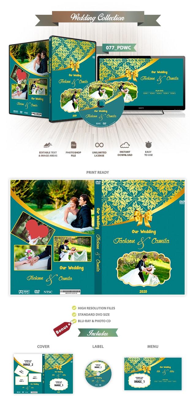 Wedding DVD Cover 077