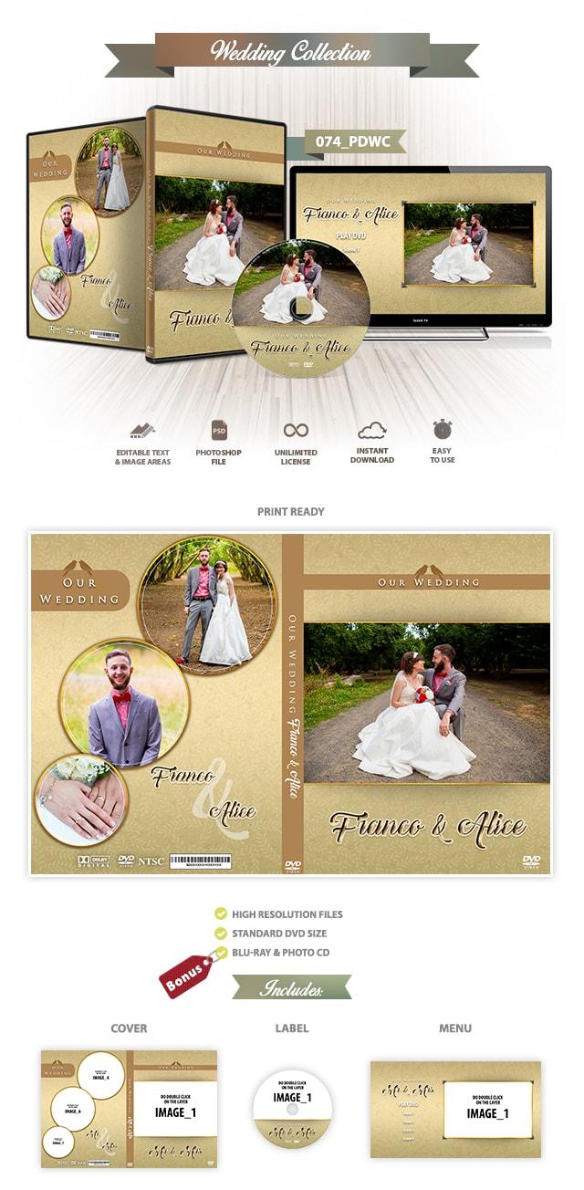 Wedding DVD Cover 074