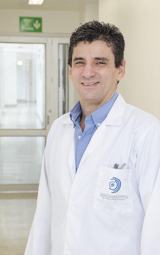 Mauricio López, Otorrinolaringología, Clínica Visual y Auditiva, Cali Valle del Cauca