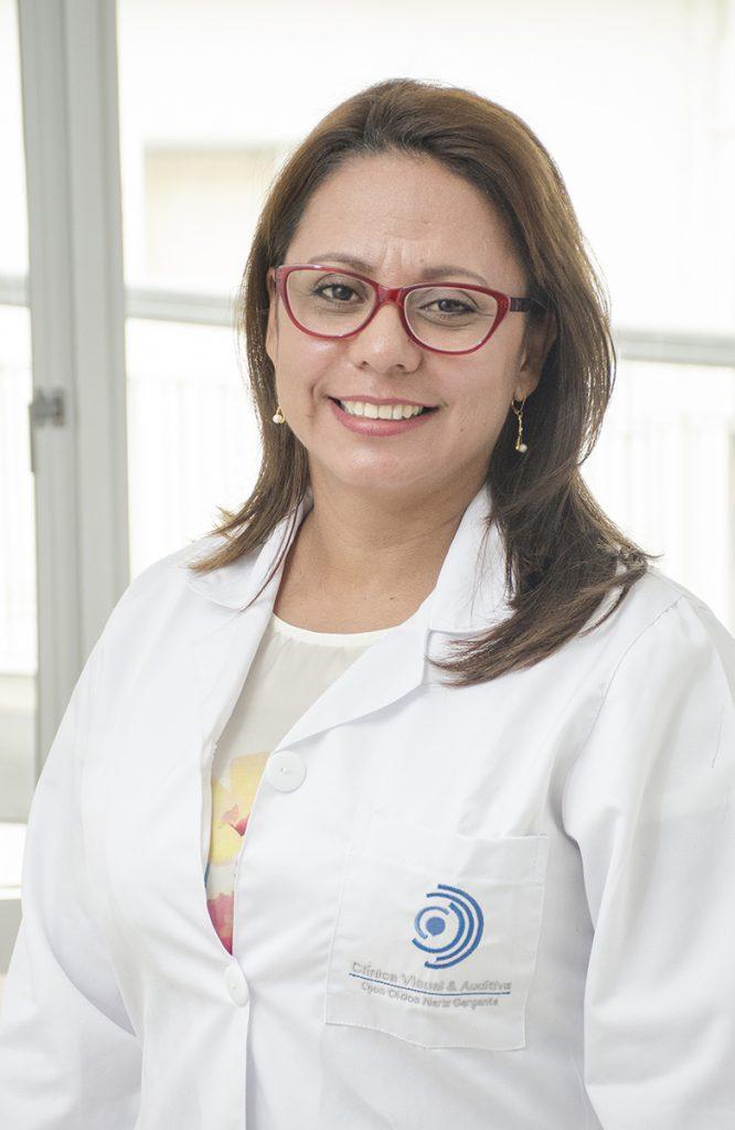 Mónica Cabrera, Otorrinolaringología, Clínica Visual y Auditiva, Cali Valle del Cauca