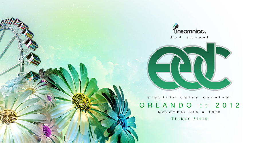 blog announcing electric daisy carnival orlando