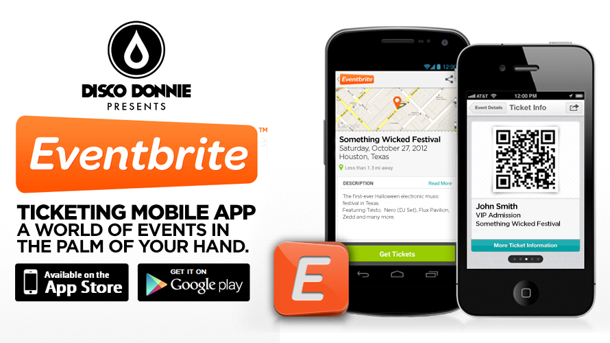 blog disco donnie presents and eventbrite launch ticketing mobile app
