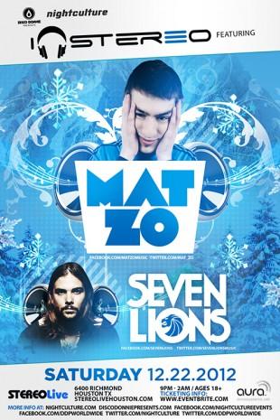 2012 1222 houston stereo live