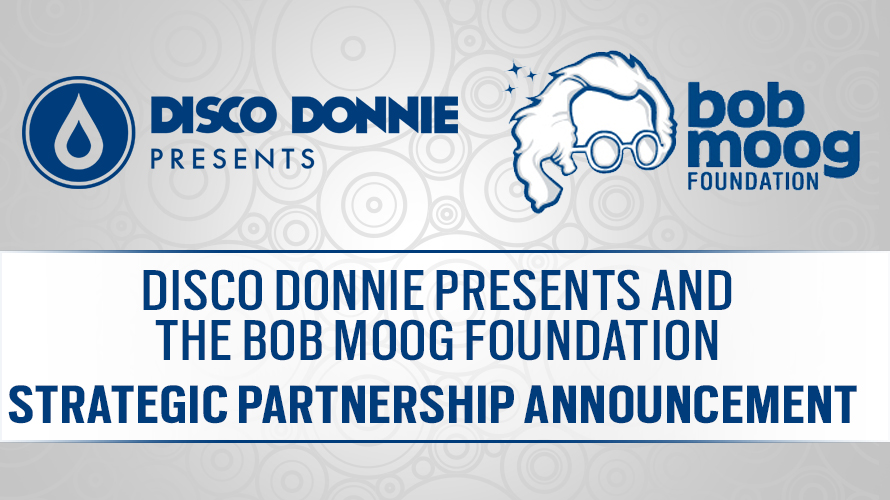 blog disco donnie presents and the bob moog foundation announce strategic partnership