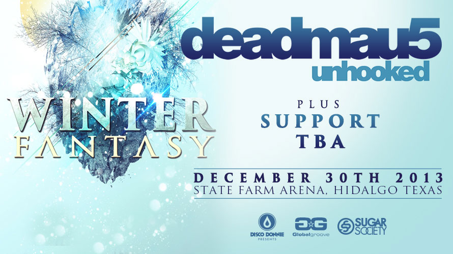 blog announcing winter fantasy for 2013 in hidalgo, tx featuring deadmau5