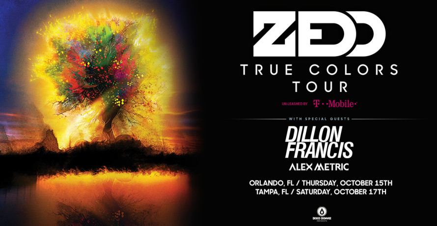 blog zedd displays the sights and sounds of 'true colors' on upcoming tour