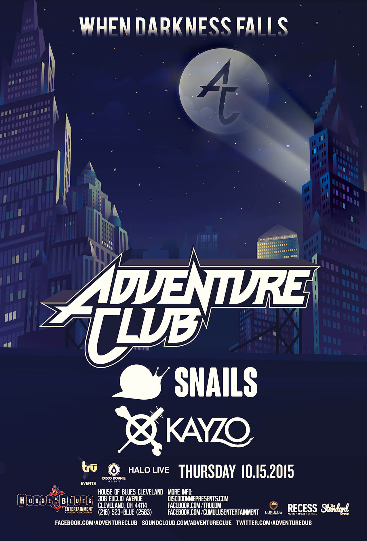 Kayzo Snails Adventure Club at House of Blues Cleveland
