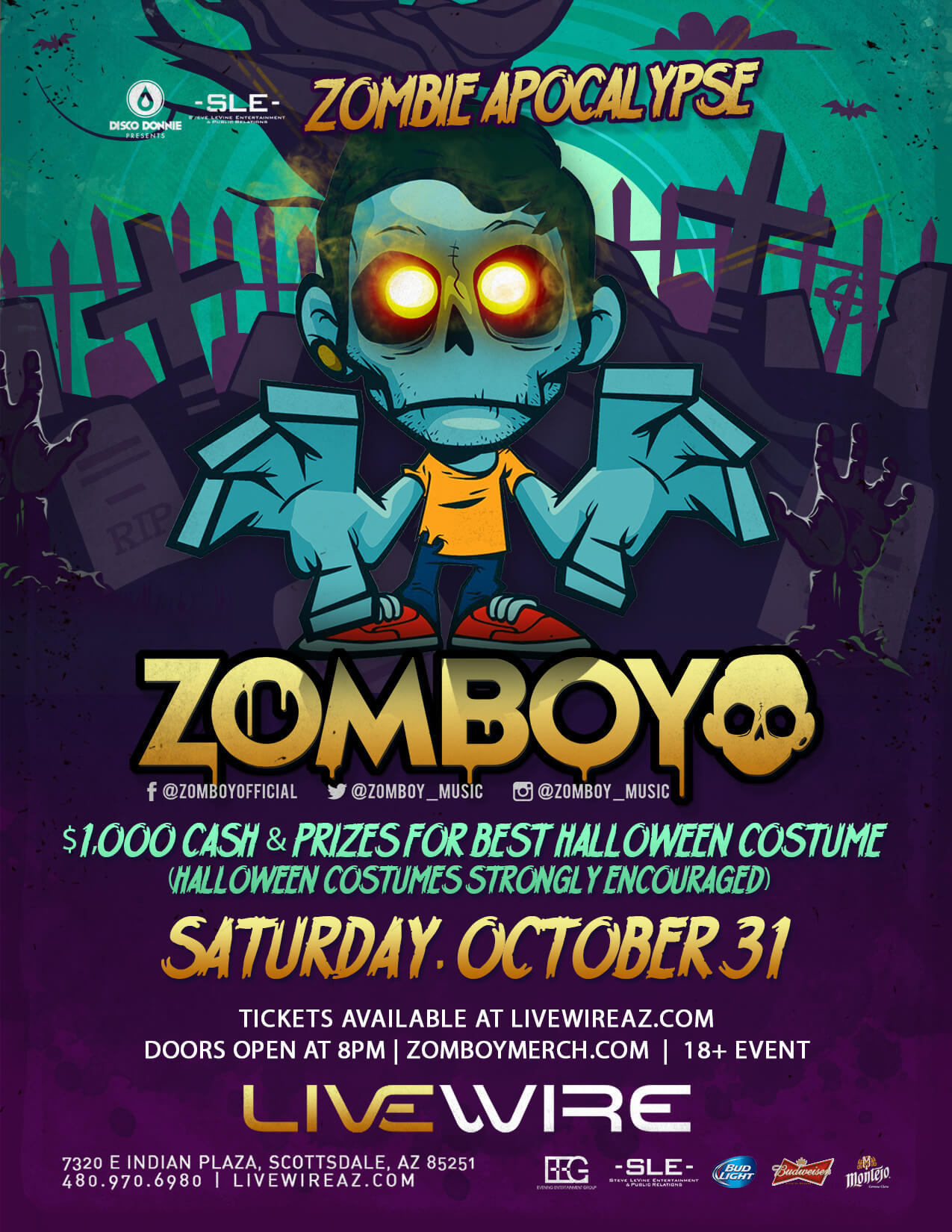 Halloween Party EDM Events, Concerts, and Tickets
