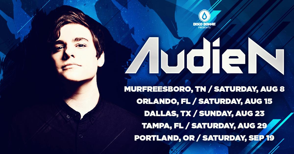 Audien Live Tour