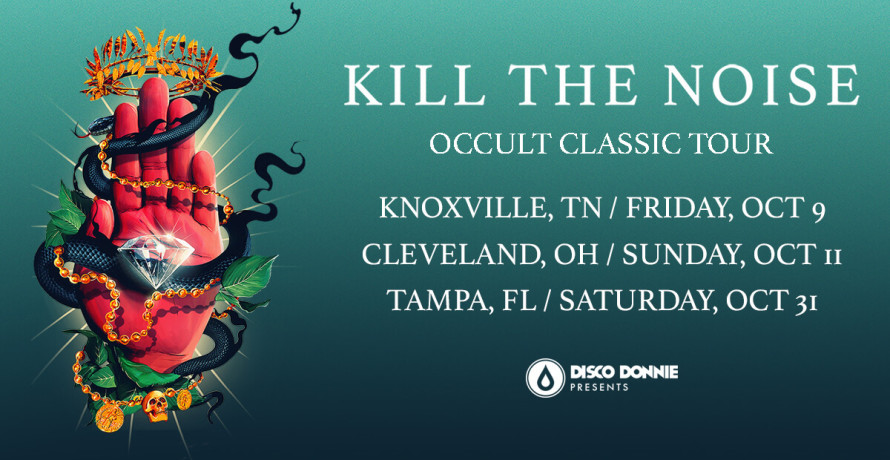 blog kill the noise follows the release of his debut album with the 'occult classic' tour