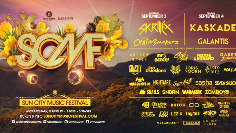 blog presenting the complete lineup for sun city music festival 2016