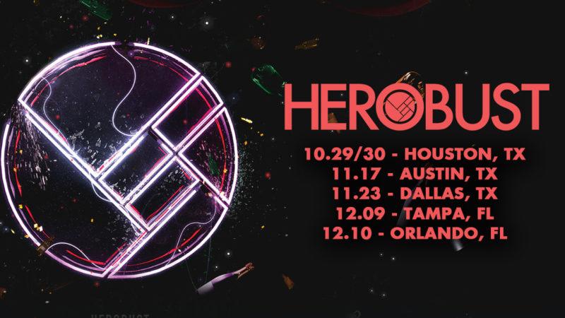 herobust i'm aloud tour dates