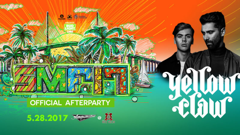 yellow claw sunset music festival after party