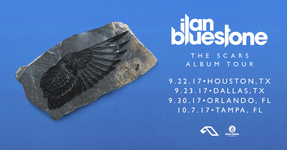 ilan bluestone the scars album tour