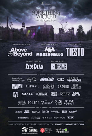 something wicked festival flyer