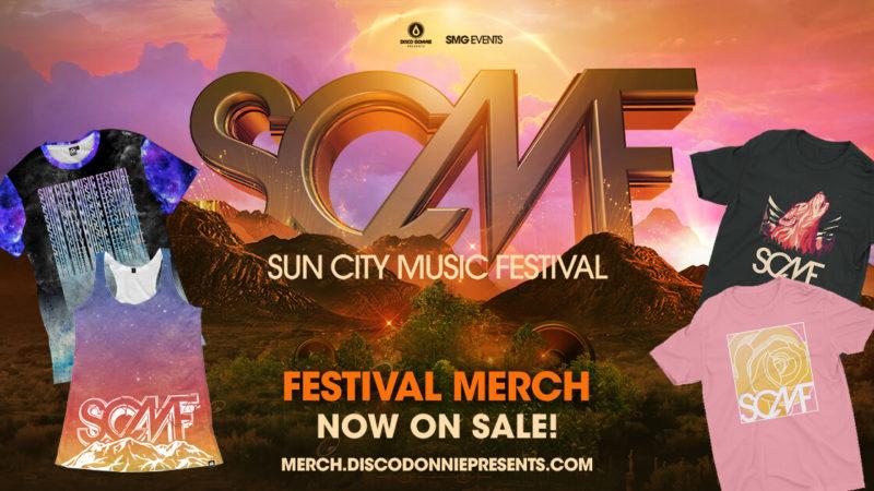 SCMF 2017 merchandise