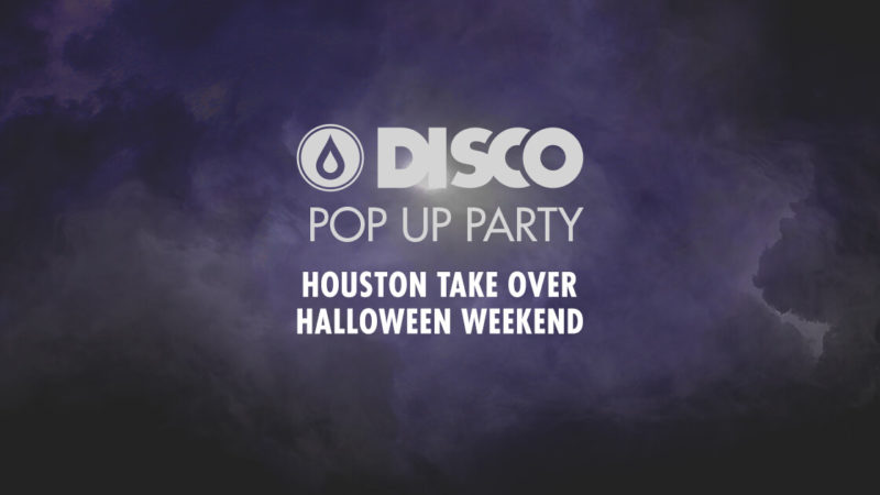 disco pop up party in houston