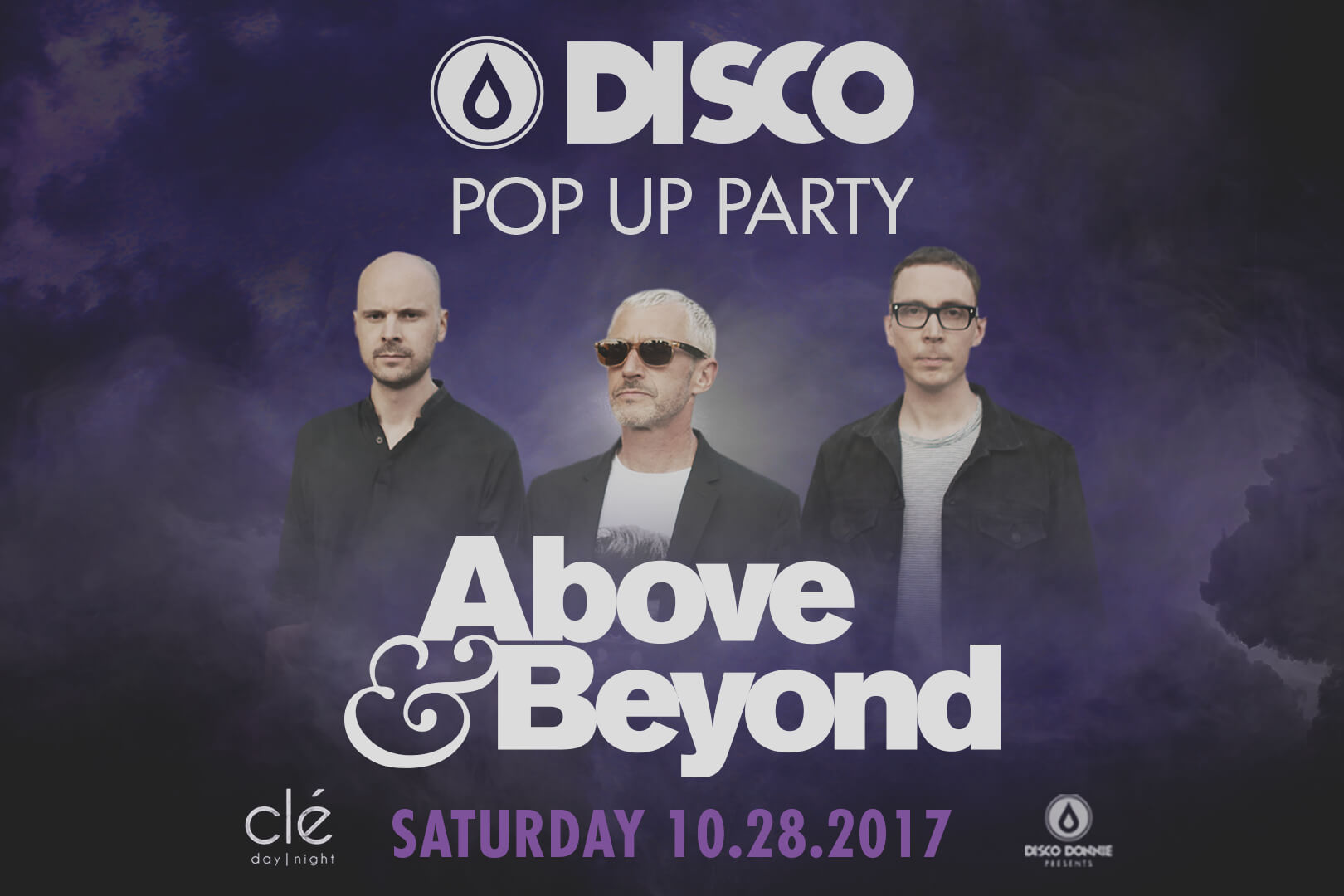 above & beyond disco pop up party in houston