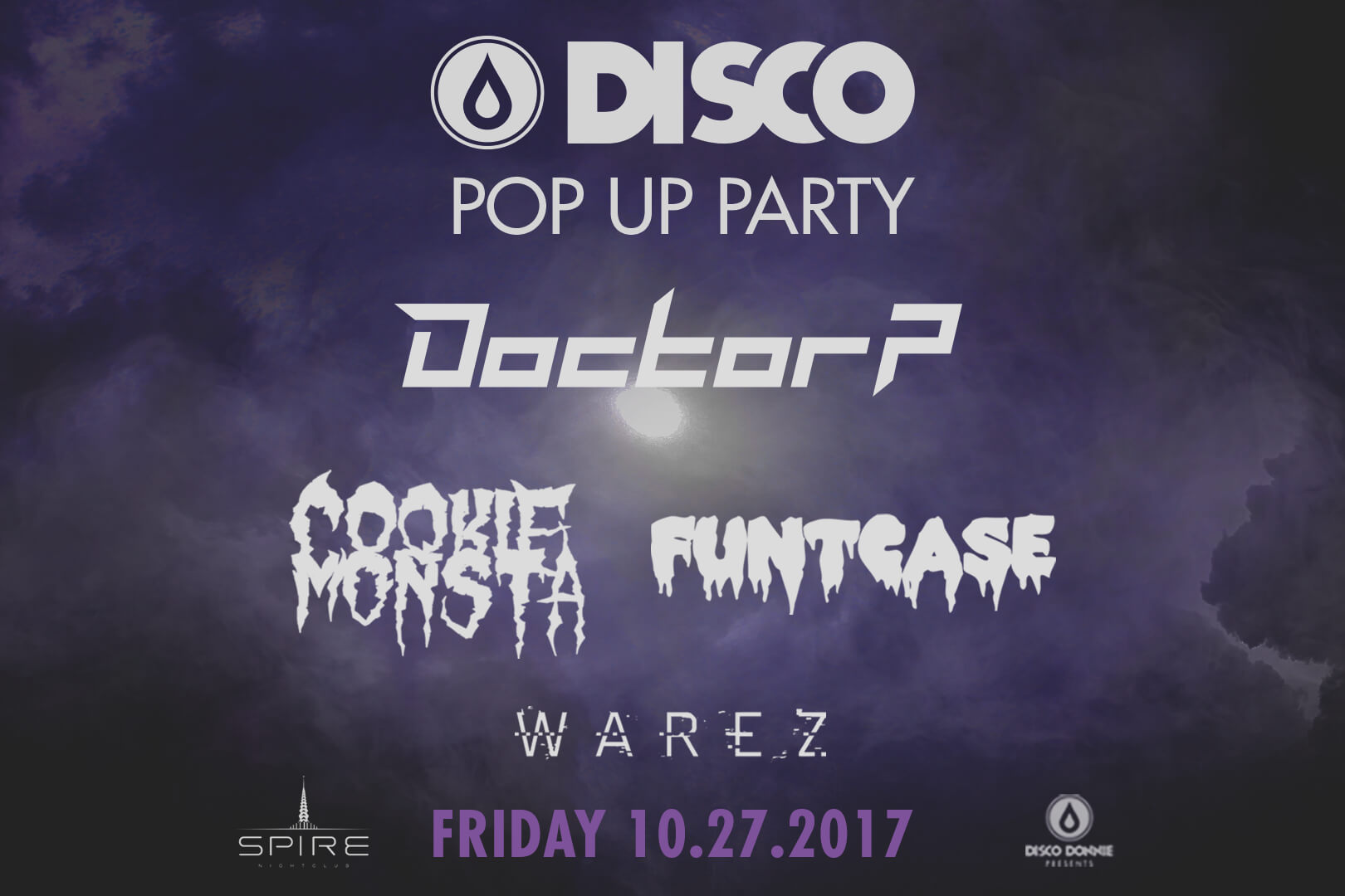 circus records disco donnie pop up party