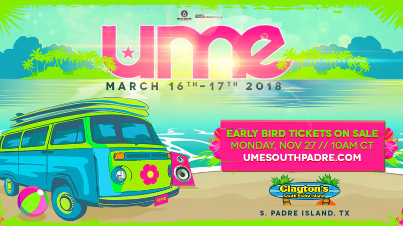 tickets to ume '18 go on sale monday!