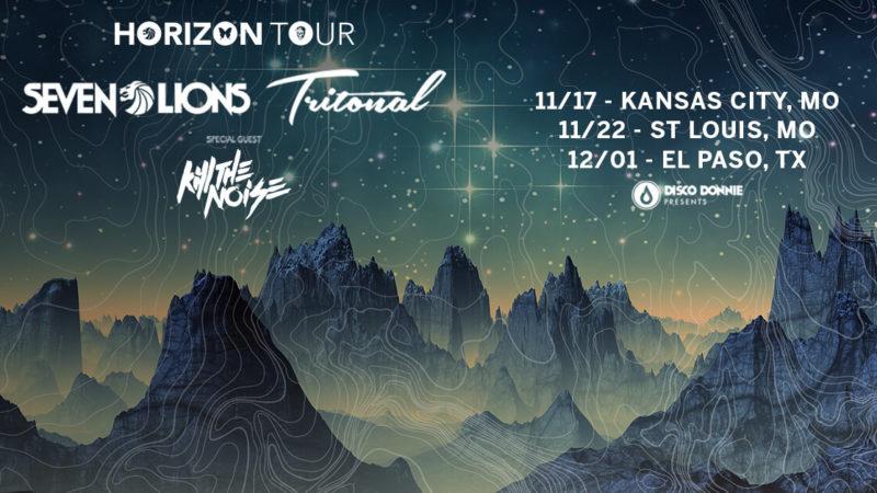 seven lions tritonal the horizon tour