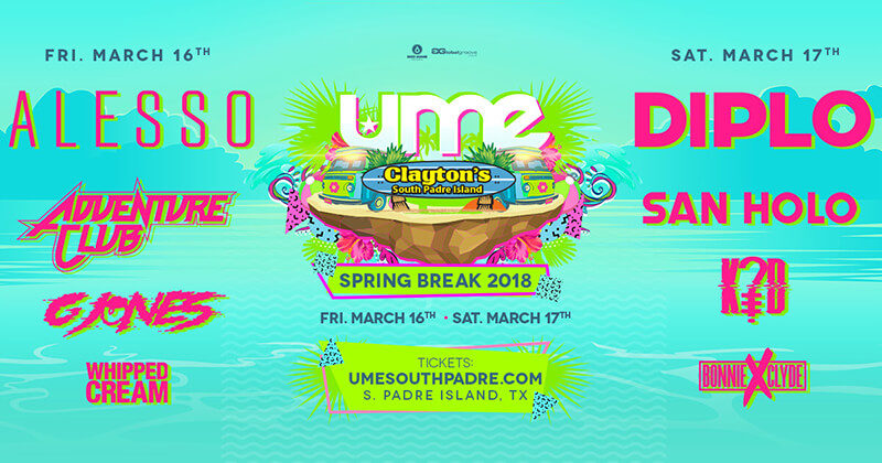 complete ume 2018 lineup