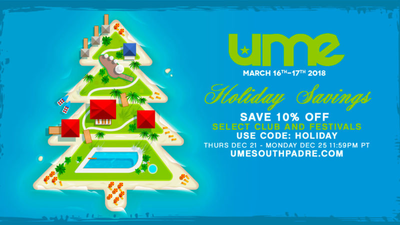holiday discount ume tickets