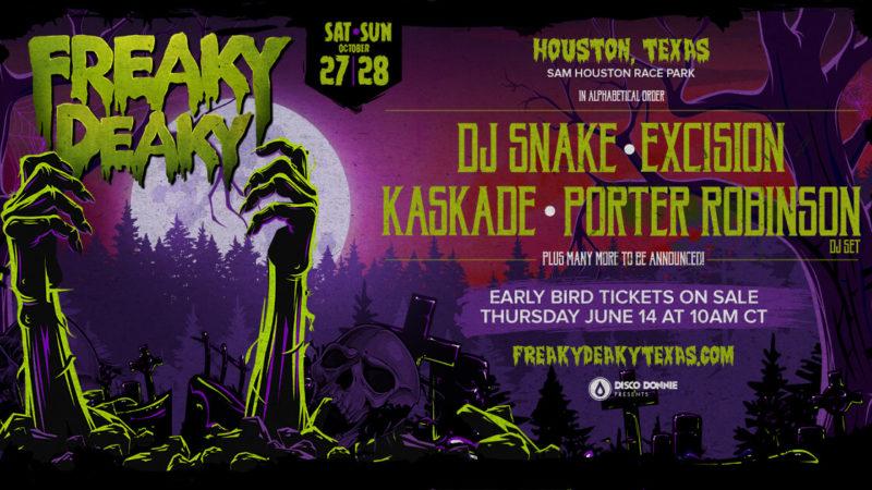 Halloween Festivals Houston | Announcing Freaky Deaky 2018 In Houston