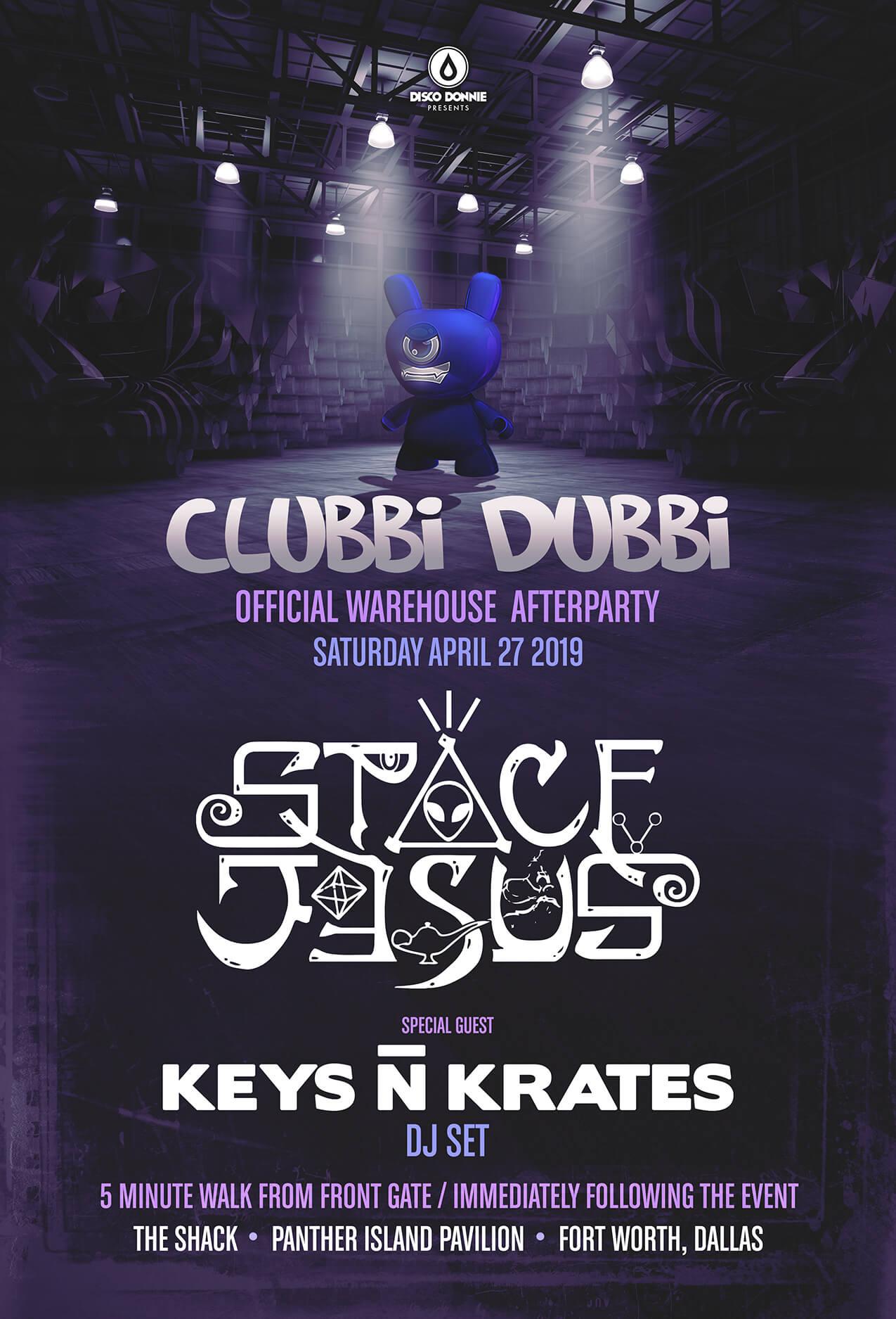 Space Jesus, Keys N Krates at The Shack (Panther Island