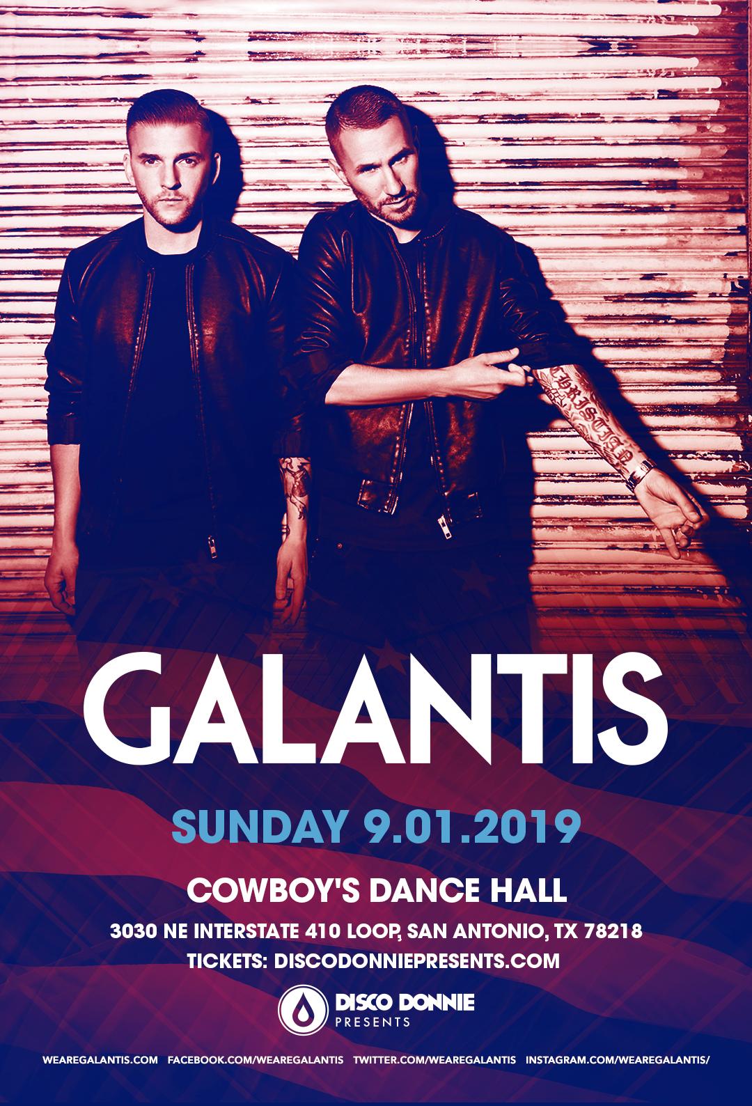 Galantis at Cowboys Dancehall