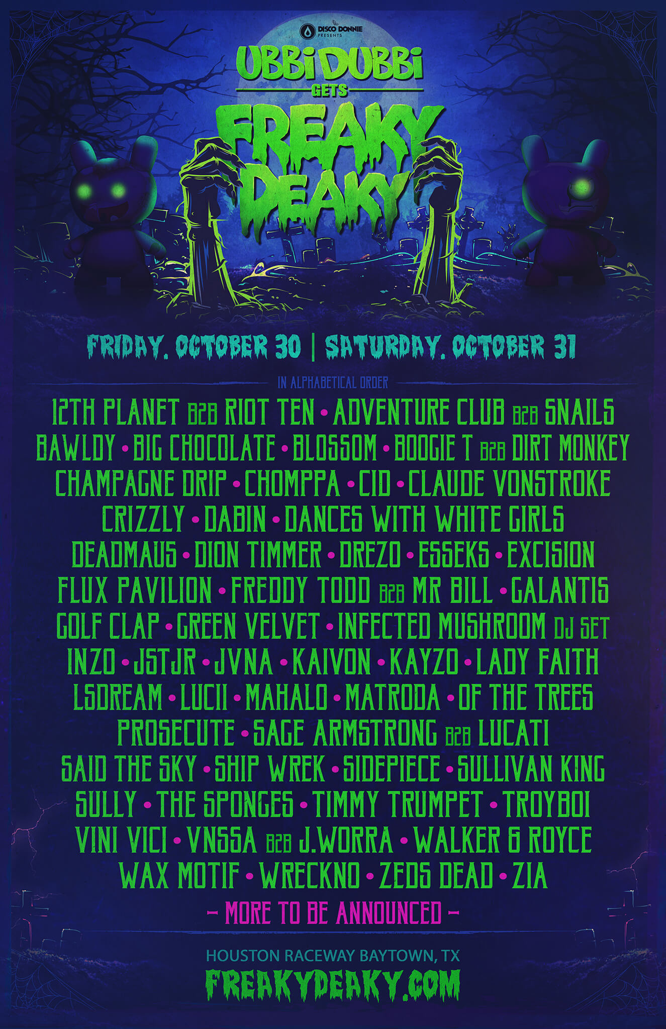 ubbi dubbi gets freaky deaky phase 1 poster